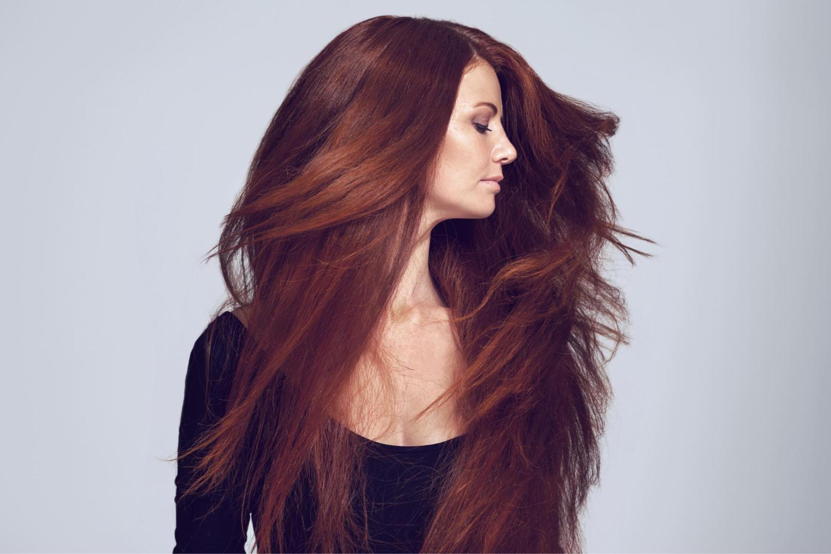 Riflessanti capelli